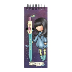 Carnet cu pix Gorjuss Bubble Fairy