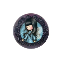 Cutie metalica rotunda mica Gorjuss  Bubble Fairy