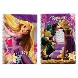 Caiet cu spira A4-80 de file colectia Rapunzel