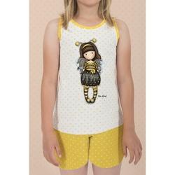 Pijama copii cu maiou Gorjuss Bee Loved, scurte