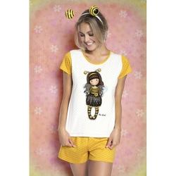 Pijama fete cu tricou Gorjuss Bee Loved, scurte