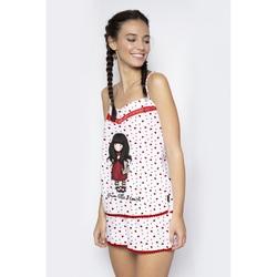 Pijama fete cu maiou Gorjuss From the Heart, scurte