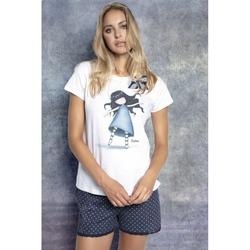 Pijama fete cu tricou Gorjuss Tiptoes, scurte