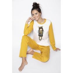 Pijama fete Gorjuss Bee Loved, lungi