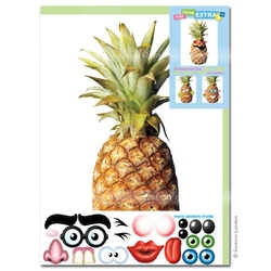 Felicitare amuzanta Little Extras ananas. O felicitare accesorizabila care aduce bucurie in sufletul celor dragi.
