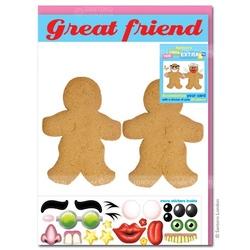 Felicitare amuzanta Little Extra Cei mai buni prieteni