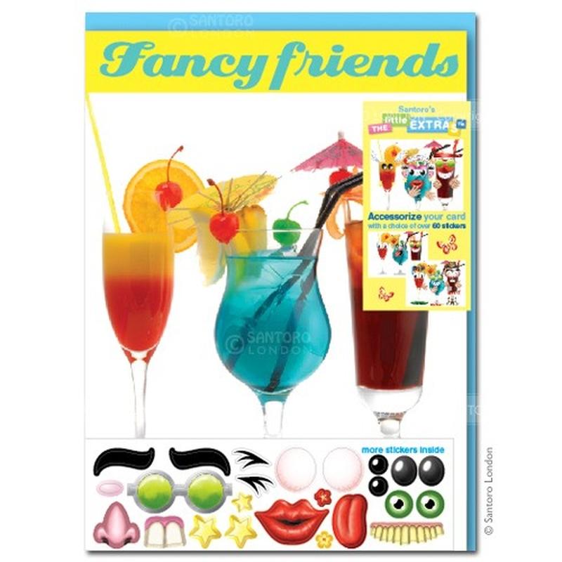 Felicitare amuzanta Little Extra Prieteni plini de fantezie