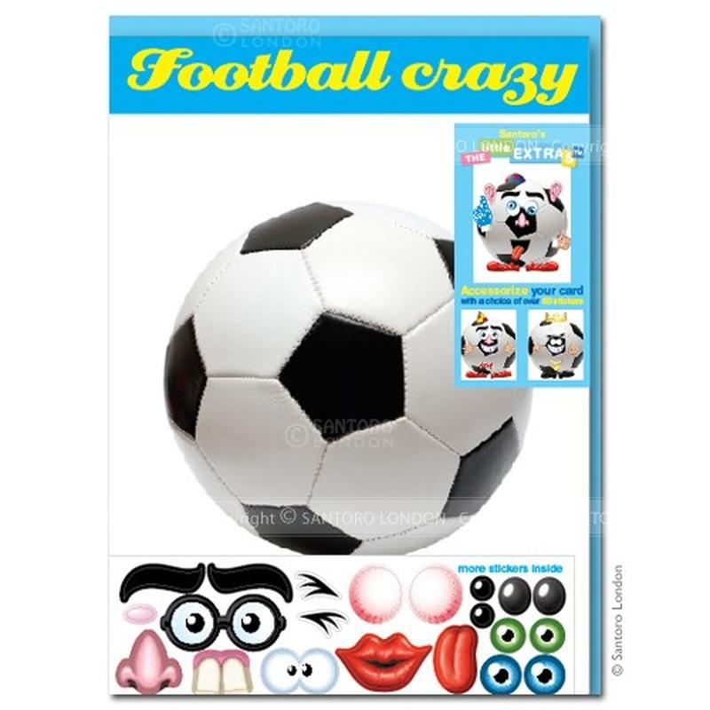 Felicitare amuzanta Little Extra Fotbal
