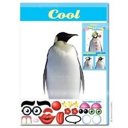 Felicitare amuzanta Little Extra Pinguin. O felicitare draguta accesorizabila. O poti face cum vrei tu.