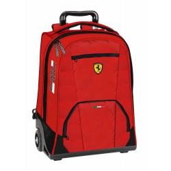 Troler Ferrari scoala rosu 47 cm