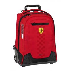 Troler Ferrari rosu scoala 47 cm produs original 100 %