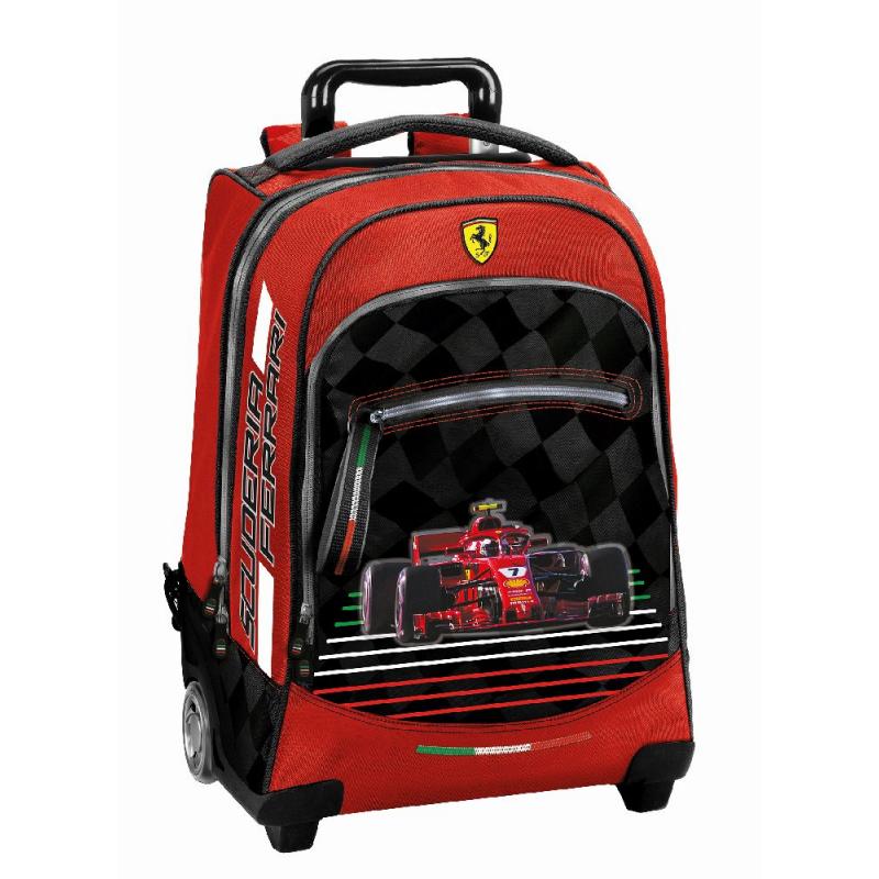 Troler Ferrari scoala 47 cm produs 100 % original