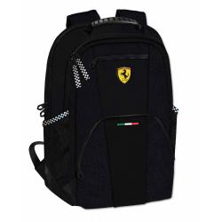 Rucsac doua compartimente Ferrari negru 40 cm produs 100 % original