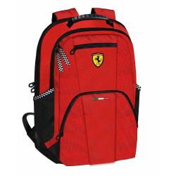 Rucsac doua compartimente Ferrari rosu 40 cm produs original 100 %
