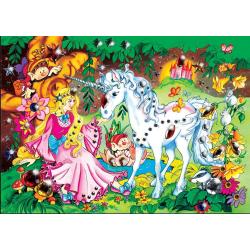 Puzzle pentru copii-Diamant (asortat) 250 piese model 2