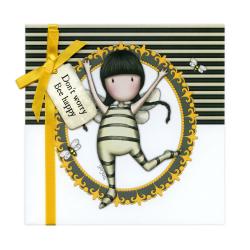 Felicitare Gorjuss Don't Worry, Bee Happy