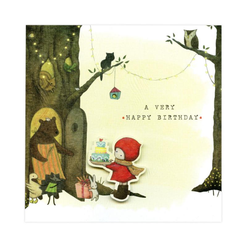 Felicitare Poppi Loves A Very Happy Birthday