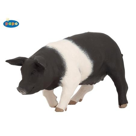 Figurina Papo- Scroafa alb cu negru