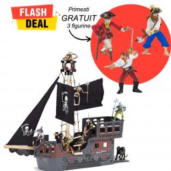 Pachet figurine Corabie si pirati