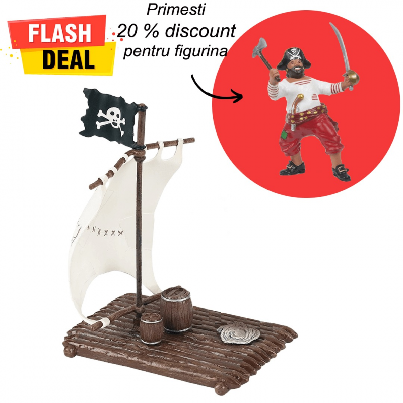 Pachet figurine Papo pluta si pirat