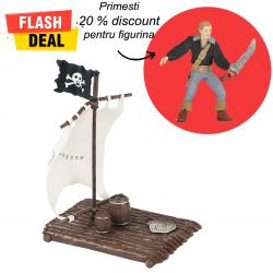 Pachet figurine Papo pluta si pirat erou