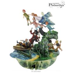 Felicitare 3D Pirouettes Santoro-Peter Pan. O felicitare tridimensionala perfecta pentru cei dragi.