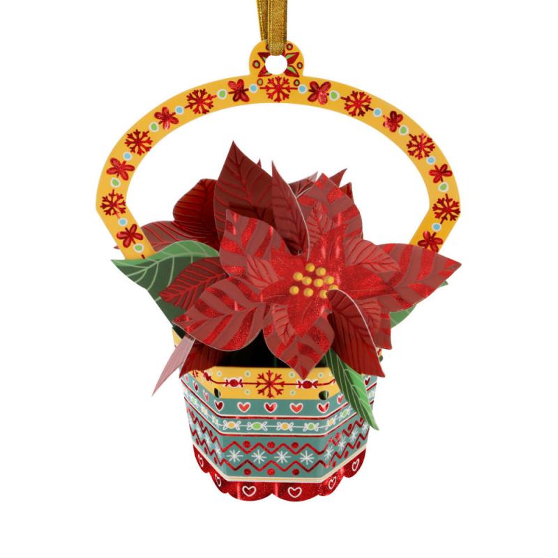 Ornament de brad de Craciun Santoro Baubles- Craciunita- un ornament special de Craciun