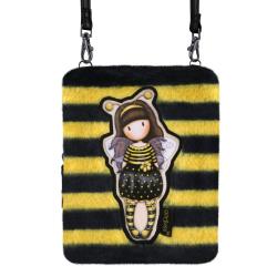 Geanta cu barete lungi Gorjuss Furry Bee Loved