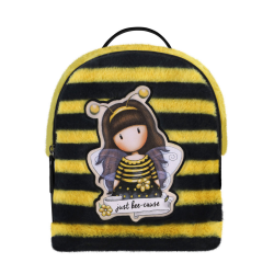 Rucsac fashion mic Gorjuss Furry Bee Loved