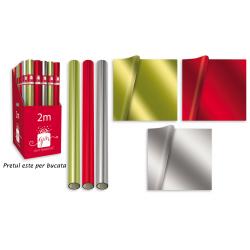 Hartie de impachetat efect folie colorata - toate cele 3 modele disponibile