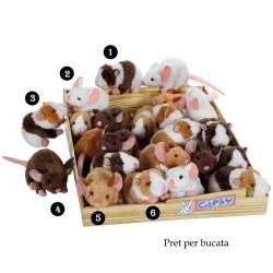 Soricel - jucarie din plus 12 cm, poti alege unul din cele 6 modele disponibile pentru cei mici