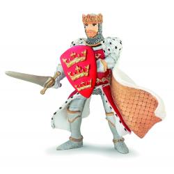 Figurina Papo-Regele Arthur. Adu cavaleria la tine acasa!