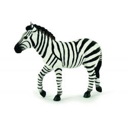 Figurina Papo-Zebra masculina -  o reproducere exacta dupa animalul viu.