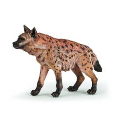 Figurina Papo-Hiena o reproducere la scala a hienei.
