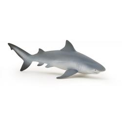Figurina Papo-Rechin taur- este o reproducere fidela, in miniatura a rechinului real.