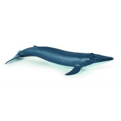 Figurina Papo-Pui balena albastra- o reproducere exacta a animalului marin.