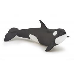 Figurina Papo-Pui balena ucigasa - o jucarie educativa pentru copii si adulti.