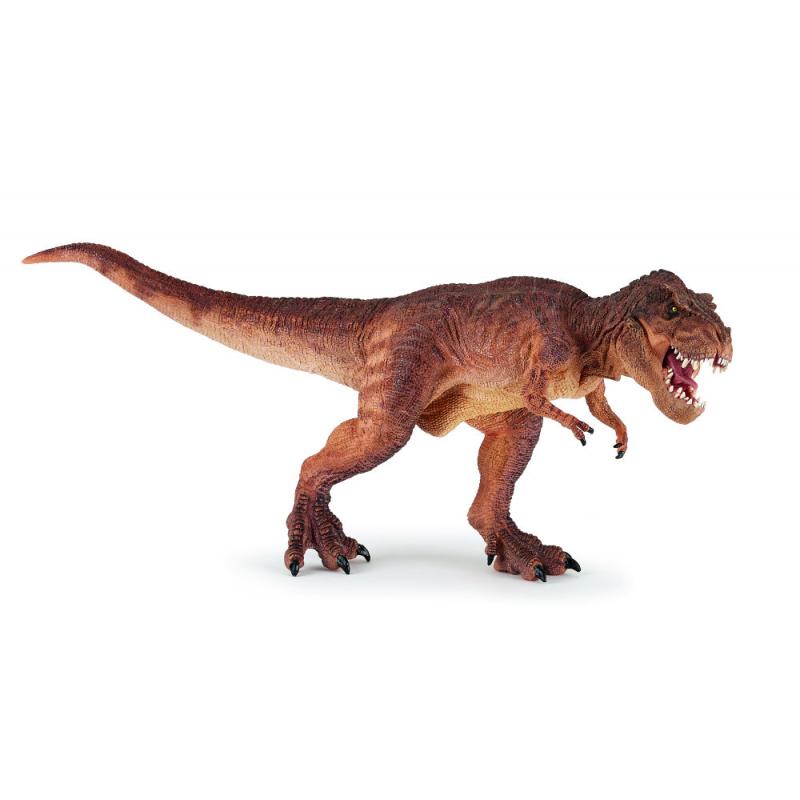 Figurina Papo-Dinozaur T-rex maro alergand - o jucarie educativa pentru copilul tau si o figurina de colectie pentru pasionati