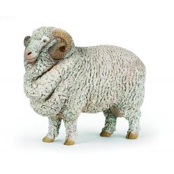 Figurina Papo-Oaie Merino - o figurina imitatie fidela a animalului viu.