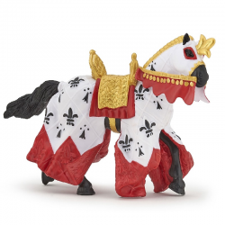 Figurina Papo-Calul Regelui Arthur- calul legendar al Regelui Arthur