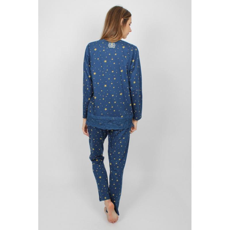 Pijama dama Gorjuss Just Because detaliu spate pijama dama