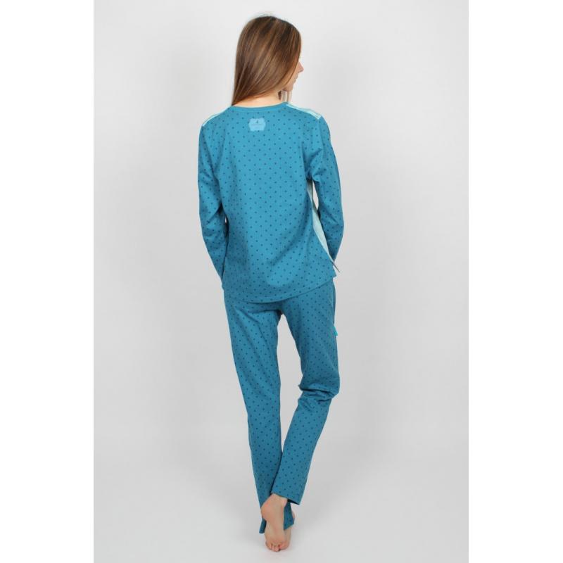 Pijama dama Gorjuss You Brought Me Love detaliu spate pijama