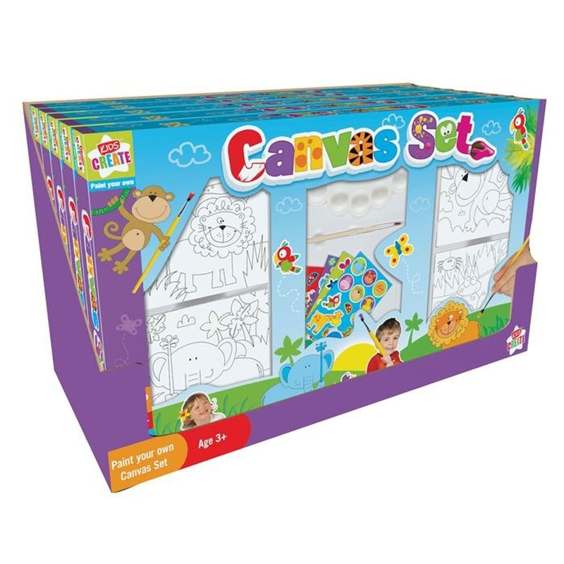 Kids Create-Set pictura pe panza