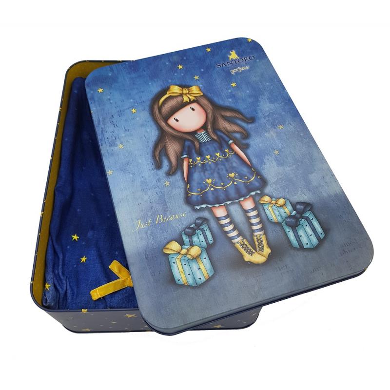 cutie metalica pijama dama gorjuss just because