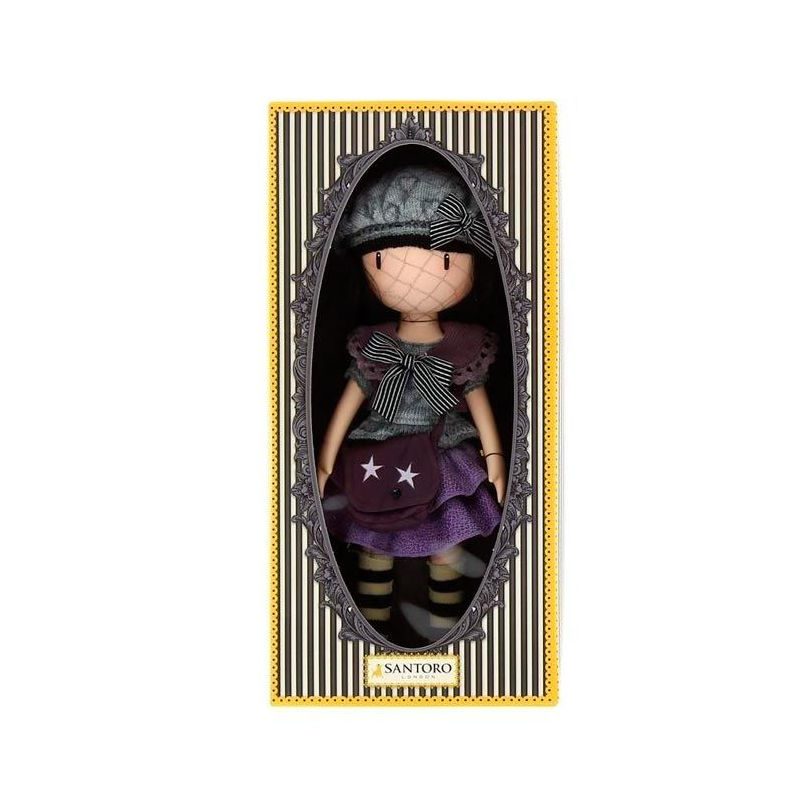 Papusa Gorjuss - Little Violet ambalata in cutie premium