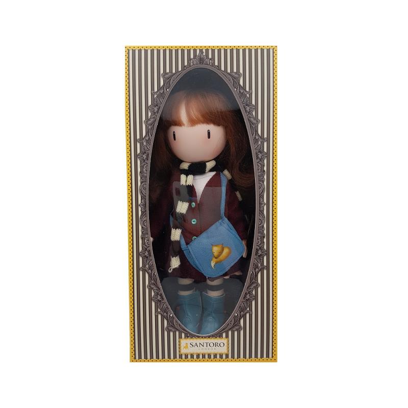 Papusa Gorjuss - Little Foxes ambalata in cutie premium