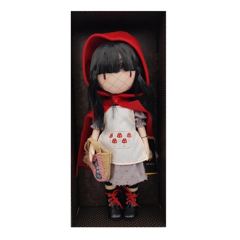 Papusa Gorjuss - Little Red Riding Hood, papusa parfumata