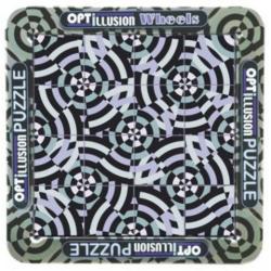 Puzzle magnetic holografic cu iluzie optica