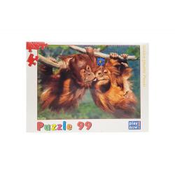Puzzle 99 piese Cimpanzei