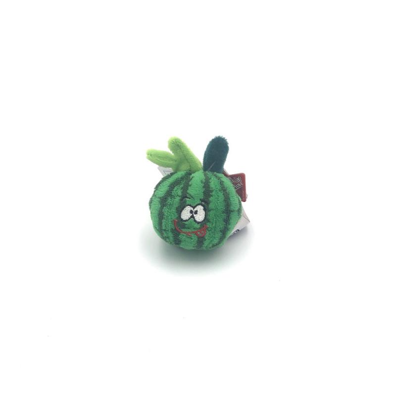 Breloc din plus pepene verde 7 cm